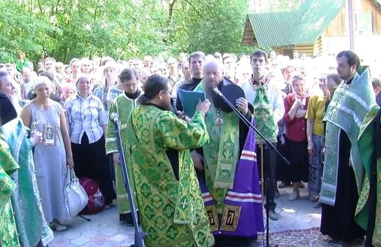 В Искитимской районе прошел ежегодный Крестный ход «За духовное возрождение России» (видео)