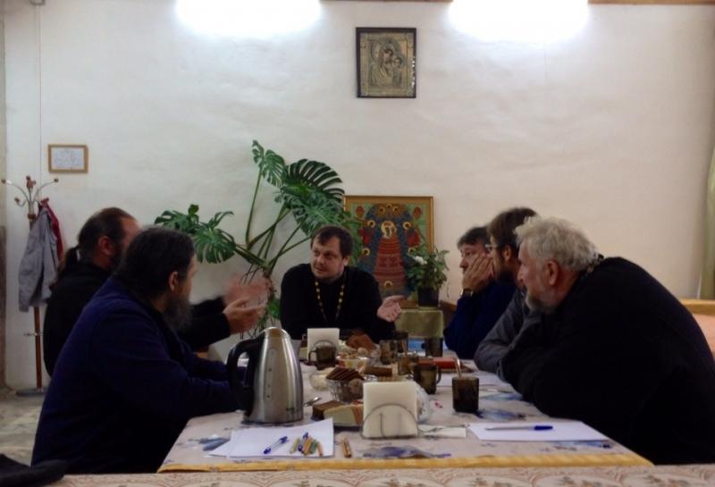 14 сентября состоялось собрание духовенства Центрального благочиния Искитимской епархии