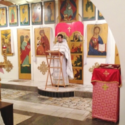 """Рождественская служба в приходе """"Живоносный Источник"""""""