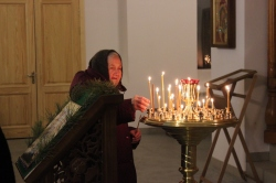 Крещенская ночь на Святом Источнике