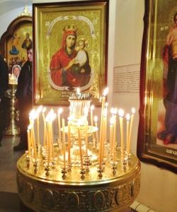 Литургия и великое освящение воды на Святом Источнике