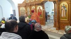 Престольный праздник в храме Новомучеников и Исповедников Российских на Святом источнике микрорайона Ложок г. Искитима