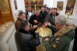 Состоялась встреча военных комиссаров Новосибирской области с Преосвященнейшим Лукой