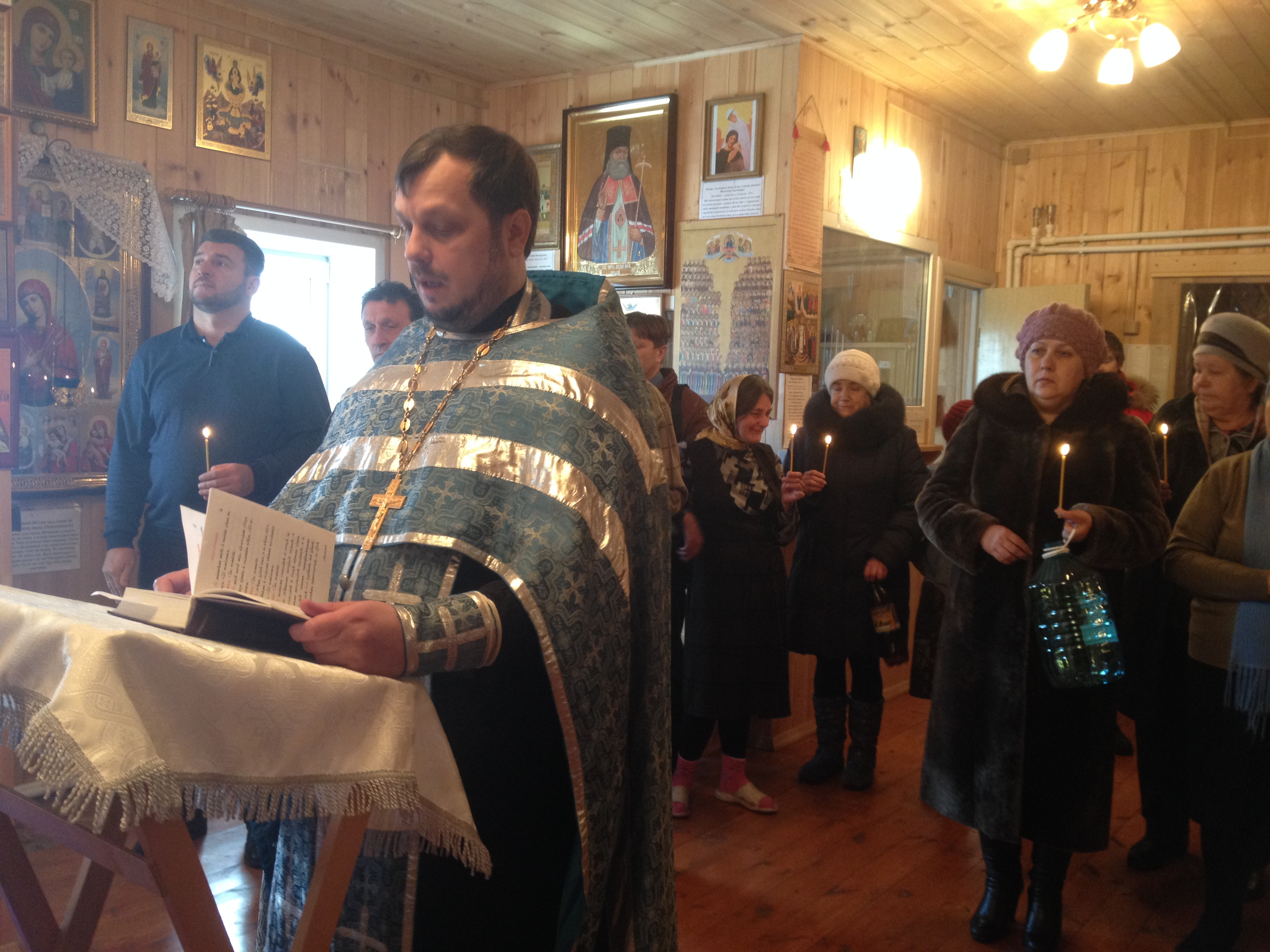 Крещение Господне в д.Бердь