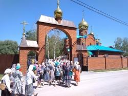 """Крестный ход """"За духовное возрождение России"""" состоялся в Искитимской епархии"""