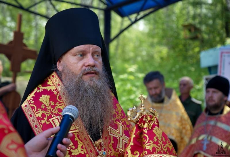 Слово епископа Луки по окончании крестного хода в честь Царственных страстотерпцев