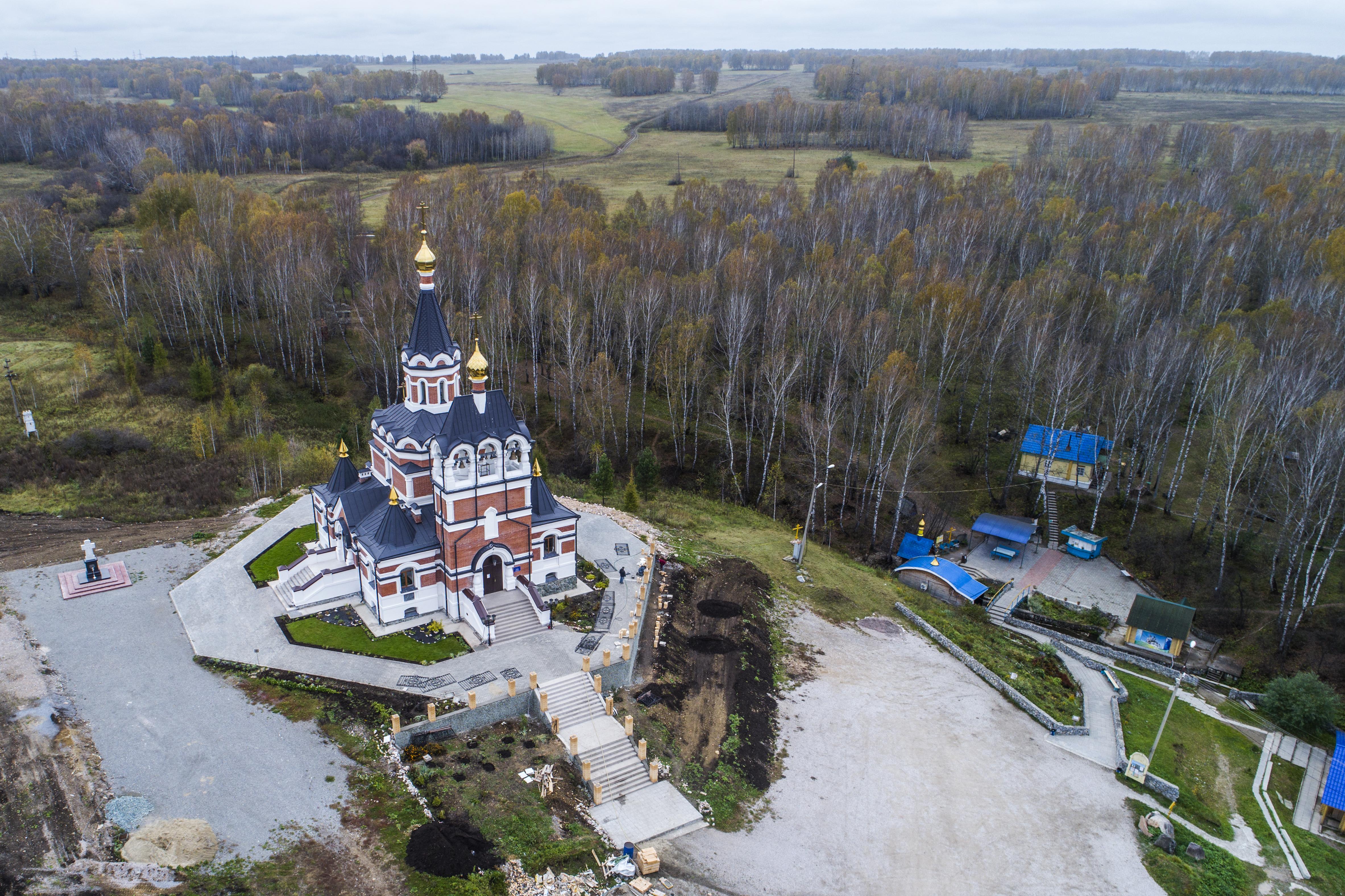 Храм в честь Новомучеников и Исповедников земли Русской. Октябрь 2017